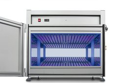 UV-VIS UV test chamber for double-sided irradiation