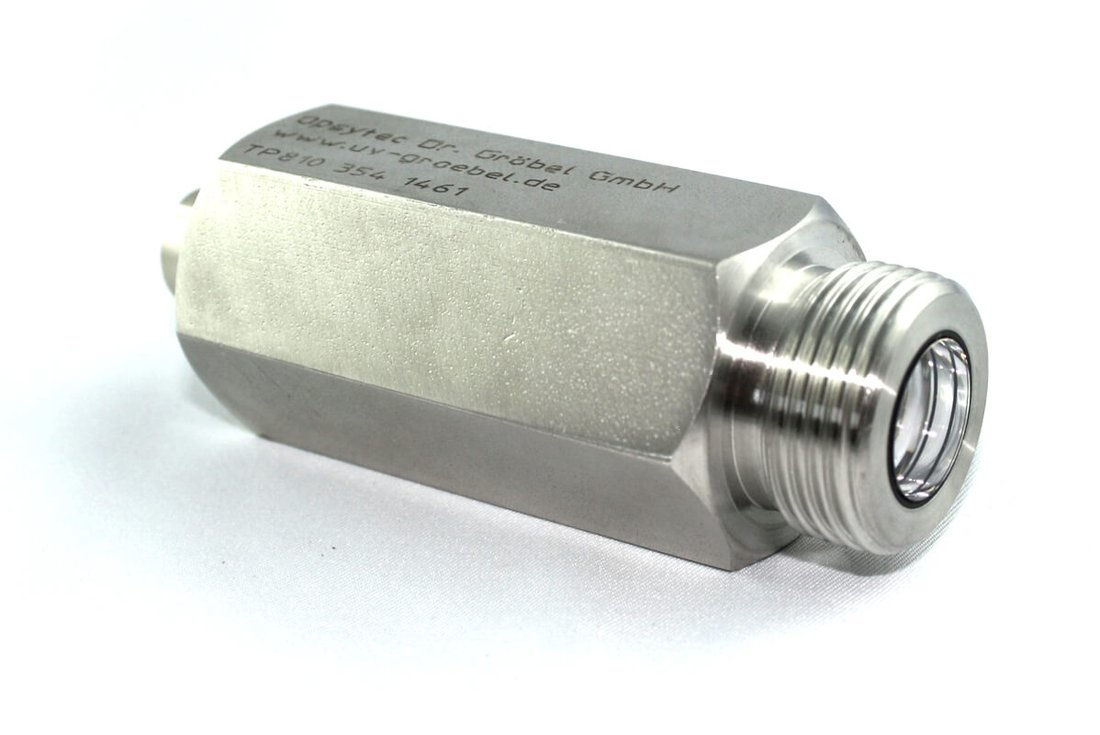 UVC-SE, a UV sensor for water desinfection or waste-water with integrated amplifier
